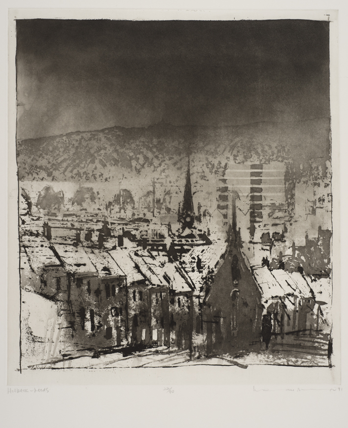 Holbeck - Leeds, 1991, by Norman Ackroyd